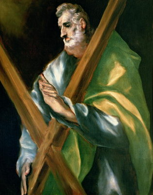 Fine Art Print of St. Andrew by El Greco