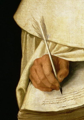 Brother Pedro Machado Poster Art Print by Francisco de Zurbaran