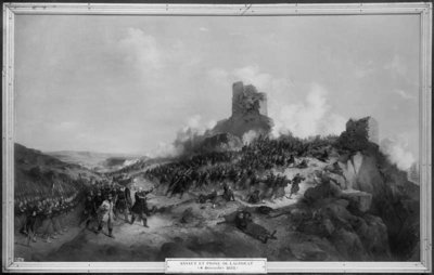 Fine Art Print of Taking of Laghouat by General Pelissier by Jean Adolphe Beauce