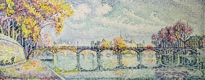 Fine Art Print of The Pont des Arts, 1928 by Paul Signac