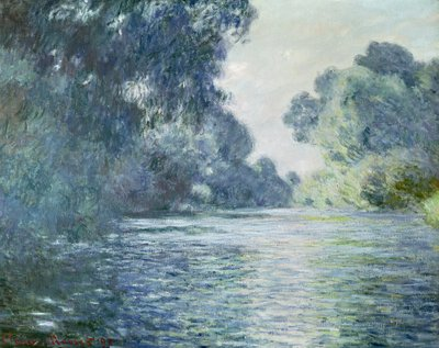 Branch of the Seine near Giverny, 1897 Poster Art Print by Claude Monet