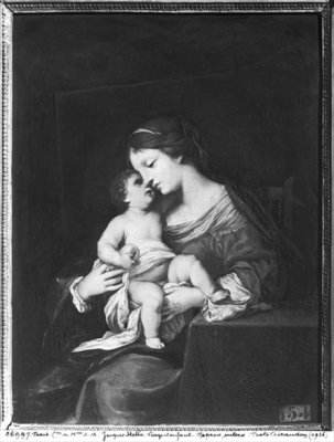 Virgin and Child Poster Art Print by Jacques Stella