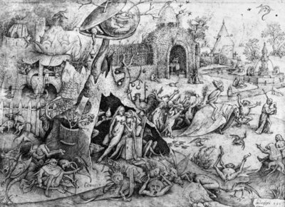 Fine Art Print of Luxury, 1557 by Pieter the Elder Bruegel