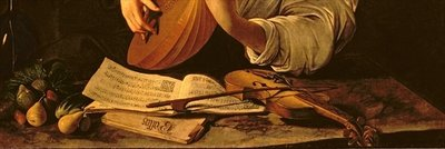 The Lute Player, c.1595 Poster Art Print by Michelangelo Merisi da Caravaggio