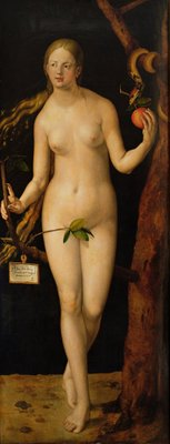 Eve, 1507 Poster Art Print by Albrecht Durer or Duerer