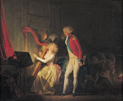 The Improvised Concert, or The Price of Harmony, 1790 Poster Art Print by Louis Leopold Boilly