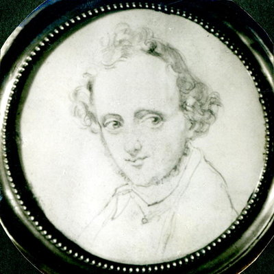 Fine Art Print of Felix Mendelssohn by German School