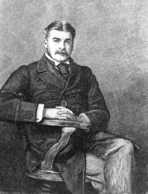 Fine Art Print of Sir Arthur Sullivan, engraved by C. Carter by Sir John Everett Millais