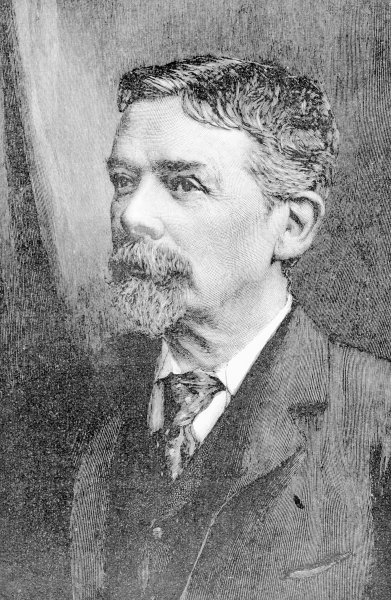 George du Maurier (litho) by English School - print