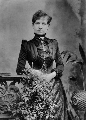 Alice Cornwell, 1885 (b/w photo) by Herbert Rose Barraud - print