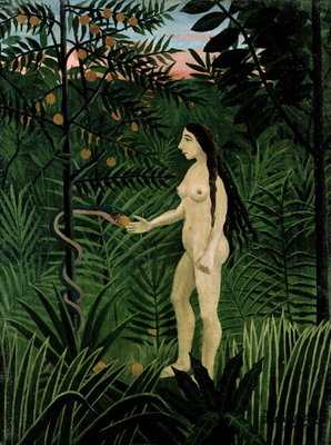 Fine Art Print of Eve, c.1906-07 by Henri J.F. Rousseau