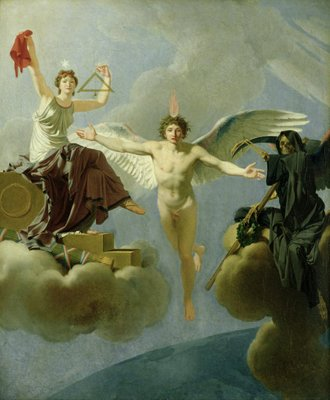Fine Art Print of Freedom or Death, 1794-95 by Jean-Baptiste Regnault