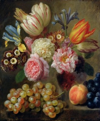Fine Art Print of Flower Study by Balthasar Denner