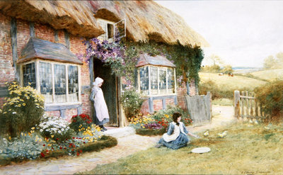 Peaceful Afternoon Poster Art Print by Arthur Claude Strachan