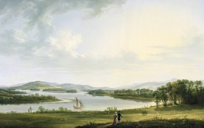 A View of Knock Ninney and Part of Lough Erne from Bellisle, County Fermanagh, 1771 (oil on canvas) by Thomas Roberts - print