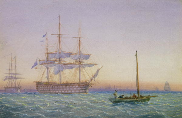 Super Frigates http://www.magnoliabox.com/art/250355/HM_Frigates_at_Anchor