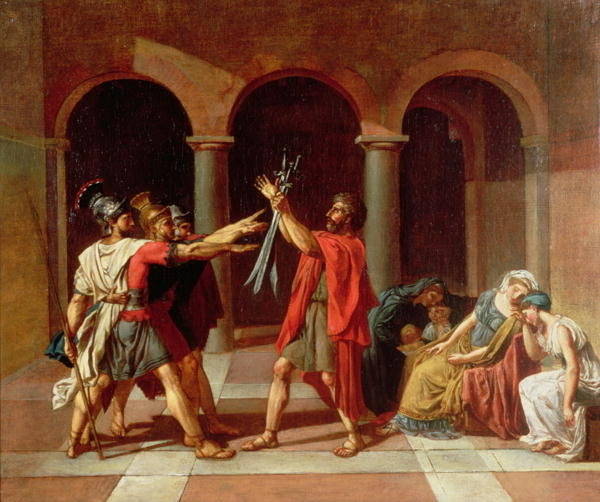 The Oath of the Horatii by Jacques Louis DavidOath Of The Horatii