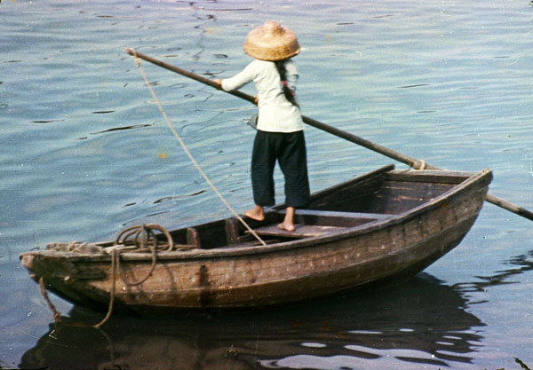 Chinese sampan boat plans