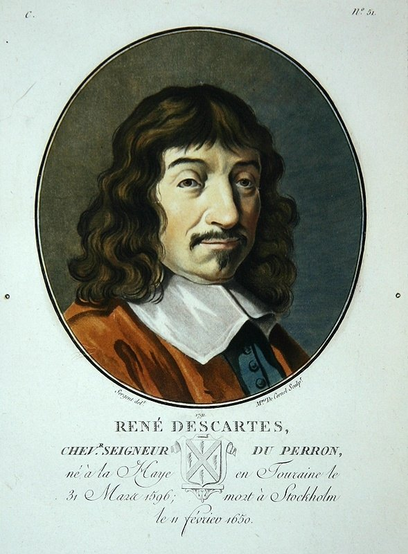 the life and work of descartes a french philosopher Life and thought of rené descartes  a work which descartes had virtually completed by 1633  the french philosopher sent a letter of complaint to the.