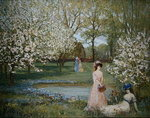 The Howe in Spring Poster Art Print by John Constable