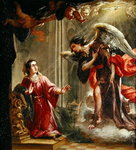 The Annunciation Poster Art Print by Luca Giordano