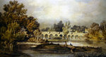 Maidenhead Bridge Poster Art Print by Joseph Mallord William Turner