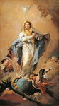 The Immaculate Conception, 1767-1769 Poster Art Print by Luca Giordano