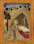 St. Jerome in the Desert Poster Art Print by Jean Bernard Restout