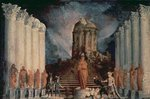 Destruction of the Temple of Jerusalem by Titus Poster Art Print by Gustave Dore