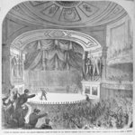Fine Art Print of The assassination of Abraham Lincoln by Frank Leslie