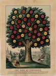 The Tree of Temperance, pub. by Currier & Ives, 1872 Poster Art Print by American School