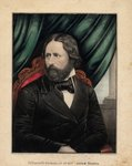 Fifteenth President of the United States, 1857 Poster Art Print by French School