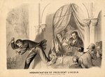 The Assassination of President Lincoln, 1865 Poster Art Print by French School