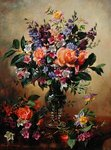 Flowers that Say All Poster Art Print by Ignace Henri Jean Fantin-Latour