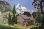 Matterhorn Mill, 2006 Poster Art Print by Anonymous