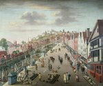 Bristol Docks and Quay, c.1760 Poster Art Print by Valentin Ruths