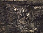 Fine Art Print of The Wise and Foolish Virgins by Sir Edward Burne-Jones