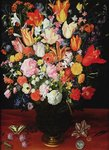 Still life of flowers, 1610s Poster Art Print by Jan Brueghel