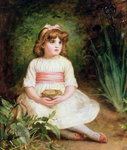 The Nest Poster Art Print by Sir John Everett Millais