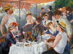 The Luncheon of the Boating Party, 1881 Poster Art Print by Nicolas Lancret