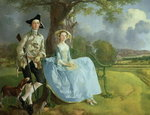 Mr and Mrs Andrews, c.1748-9 Poster Art Print by Thomas Gainsborough
