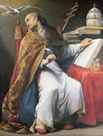 St. Gregory Poster Art Print by Francisco de Zurbaran
