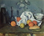 Fruits, 1879-80 Poster Art Print by Paul Cezanne
