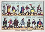 National Opinions on Bonaparte, 1808 Poster Art Print by American School