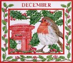 December Poster Art Print by Linda Benton