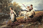 The Ride Home Poster Art Print by Francois Boucher