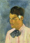 Young Man with a Flower Behind his Ear, 1891 Poster Art Print by Roger Eliot Fry