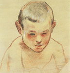 Head of a Boy, c.1886-88 Poster Art Print by Roger Eliot Fry