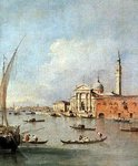 S. Giorgio Maggiore, seen from the Giudecca Poster Art Print by William James