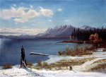 Lake Tahoe Poster Art Print by Albert Bierstadt